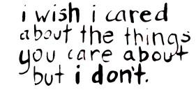 cared