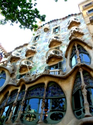 Antoni Gaudi architecture in Barcelona