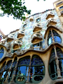 Antoni Gaudi architecture in Barcelona