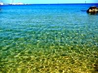 Man-Made Beach in Barcelona