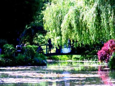 Monet Gardens, a bride