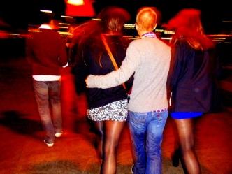Bar hopping in Barcelona