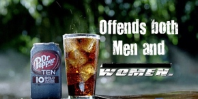 Dr. Pepper 10's sexist commercial