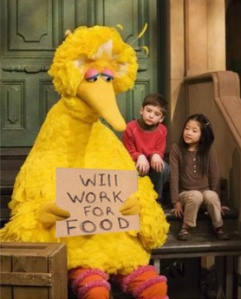 Poor Big Bird.